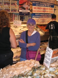 Sharon Myers Visits the Fish Market