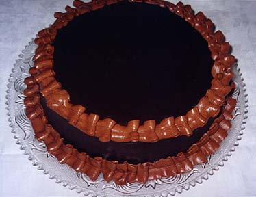 Luscious Chocolate Layer Cake